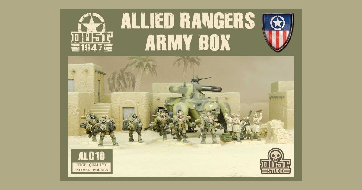 Dust 1947: Allied Rangers Army Box