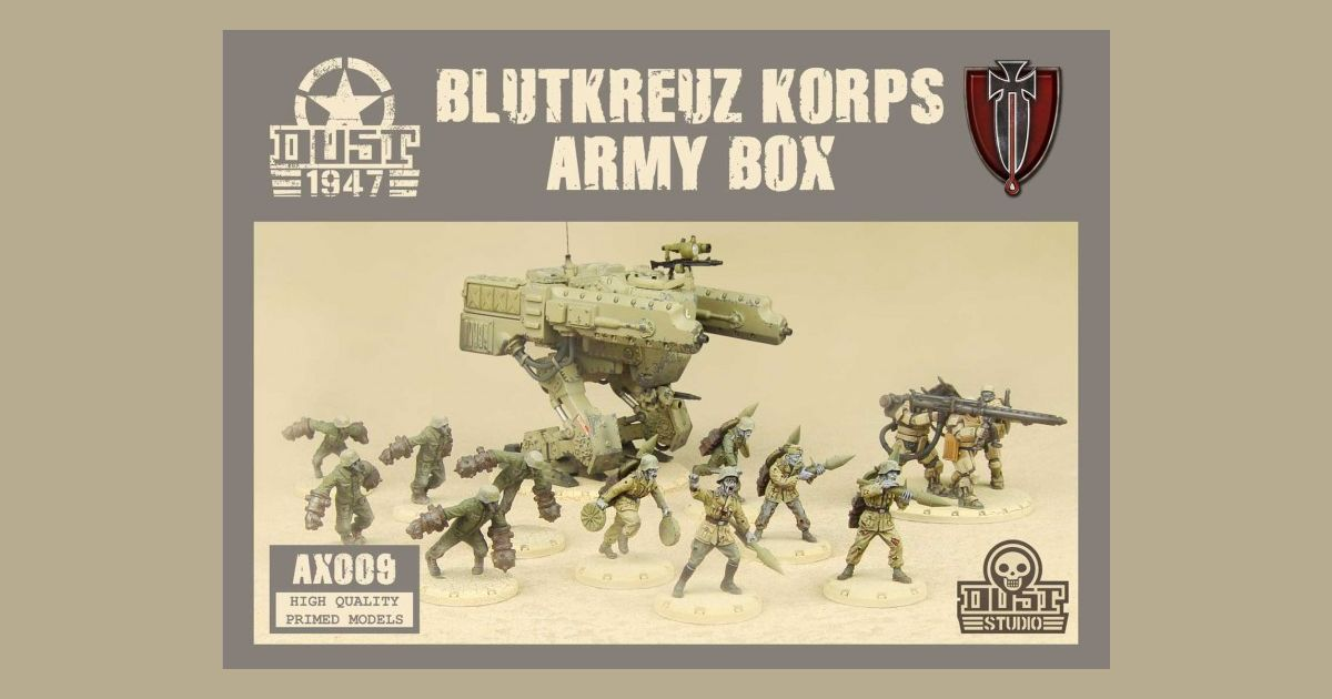 Dust 1947: BlutKreuz Army Box