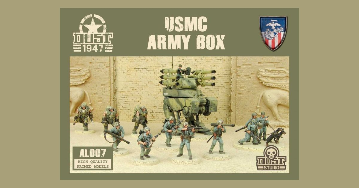 Dust 1947: USMC Army Box