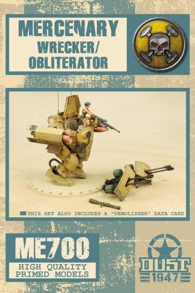 Dust 1947: Mercenary Wrecker/Demolisher/Obliterator