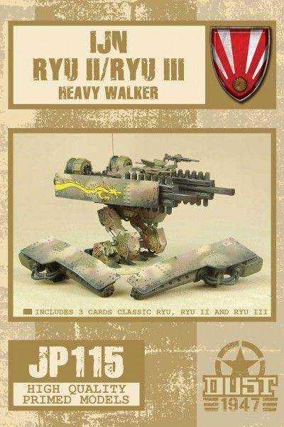 Dust 1947: IJN Ryu II/Ryu III Heavy Walker