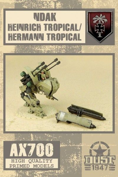 Dust 1947: Heinrich Tropical/Hermann Tropical