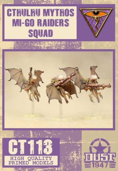 Dust 1947: Mi-Go Raiders Squad