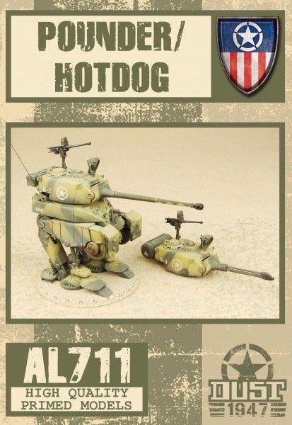 Dust 1947: Pounder/Hot Dog