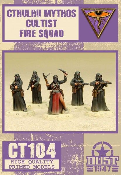 Dust 1947: Cthulhu Mythos Cultist Fire Squad