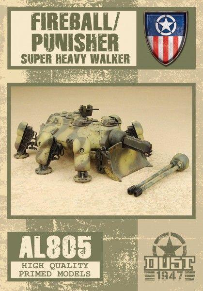 Dust 1947: Fireball/Punisher – Super Heavy Walker