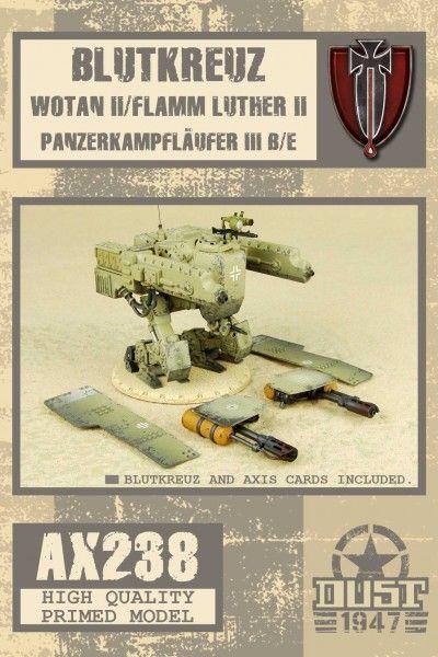 Dust 1947: Wotan II / FlammLuther II / PanzerKampfLäufer III B/E