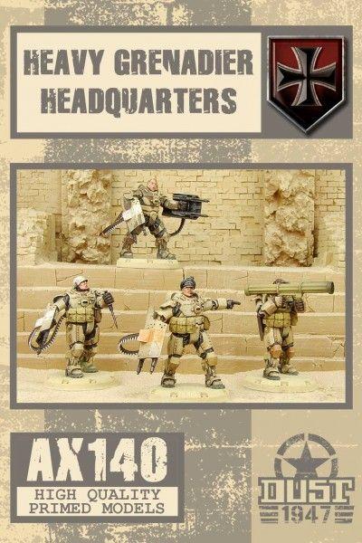 Dust 1947: Heavy Grenadiers Headquarters