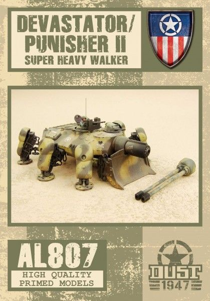 Dust 1947: Devastator / Punisher II – Super Heavy Walker