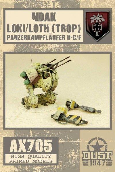 Dust 1947: Loki / Loth (Trop) PanzerKampfLäufer II-C/F