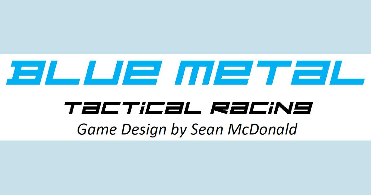 Blue Metal: Tactical Racing
