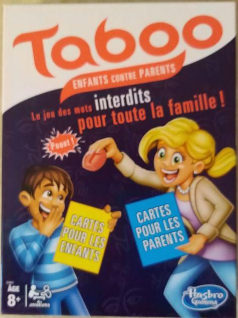 Taboo: Kids vs. Parents