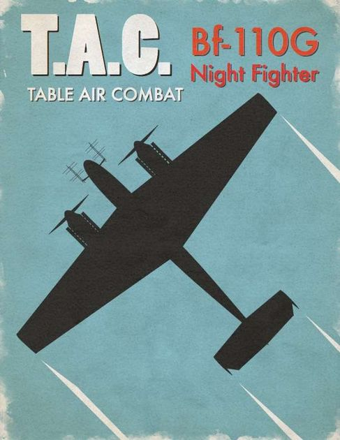 Table Air Combat: Bf-110G Night Fighter