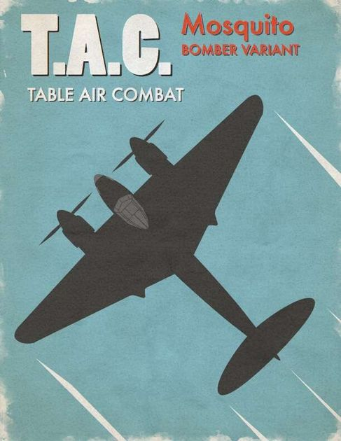 Table Air Combat: Mosquito Bomber variant