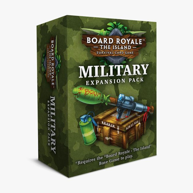 Board Royale: The Island – Military Expansion Pack