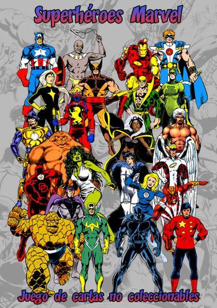 Superhéroes Marvel: Juego de cartas no coleccionable