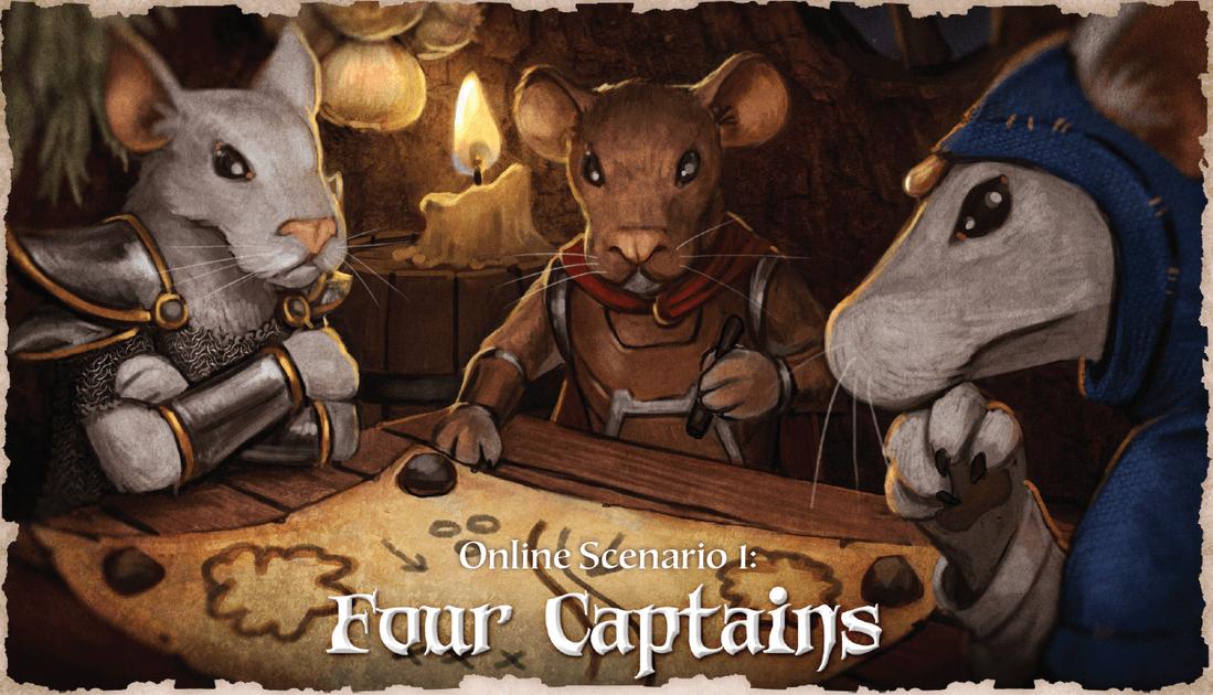 Tail Feathers: Four Captains Scenario