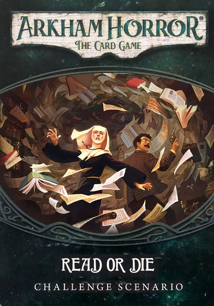 Arkham Horror: The Card Game – Read or Die: Challenge Scenario
