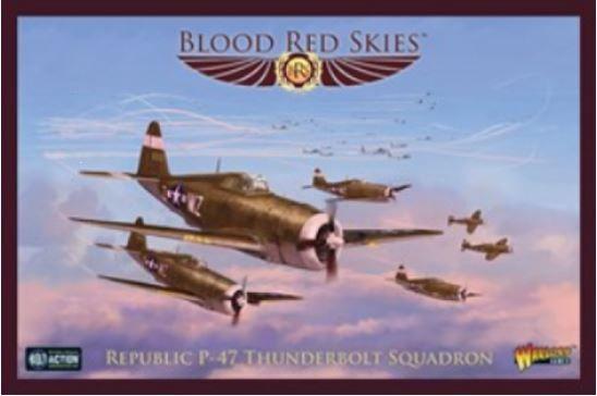 Blood Red Skies: Republic P-47 Thunderbolt Squadron