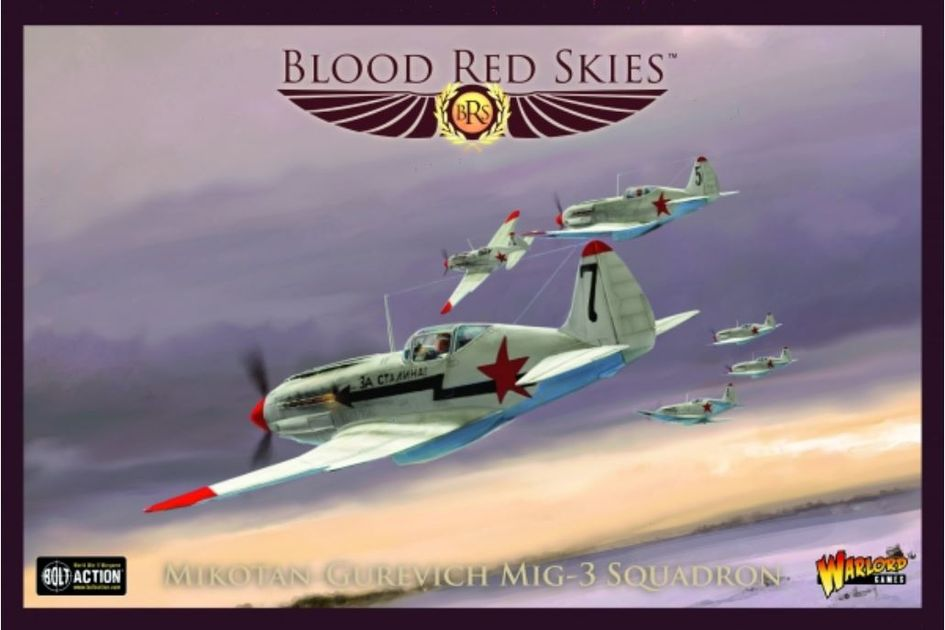 Blood Red Skies: Mikotan Gurevich MiG-3 Squadron