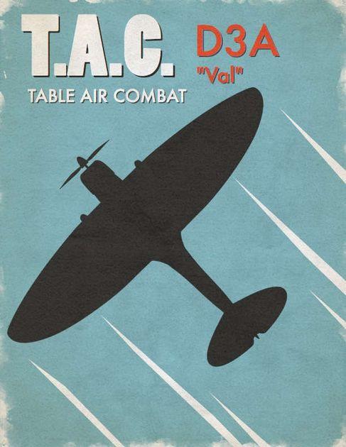 Table Air Combat: D3A Val