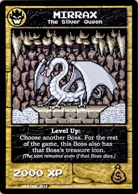 Boss Monster: Mirrax Promo Card