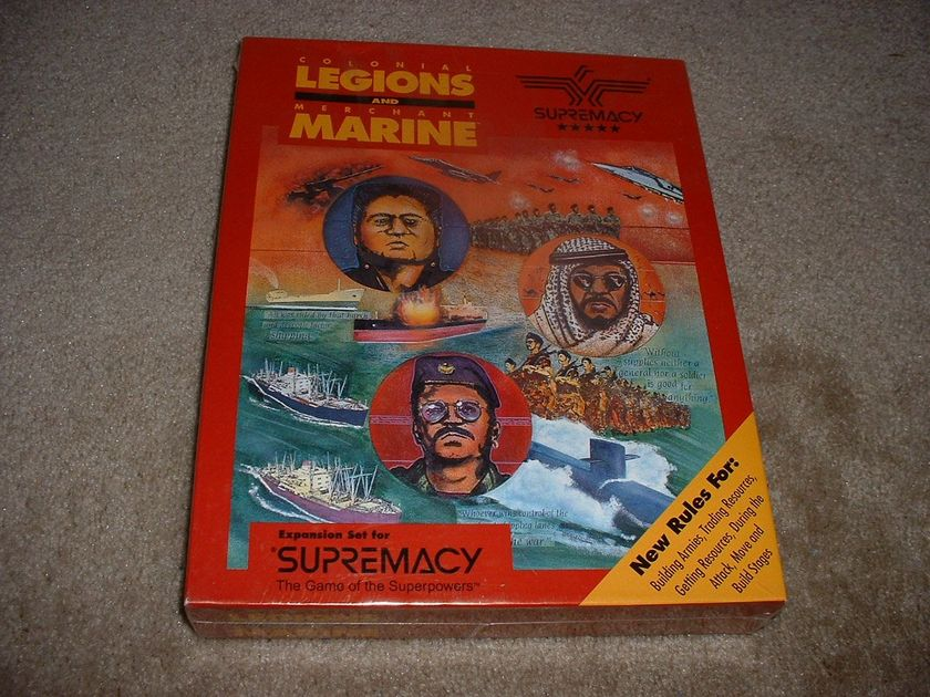 Supremacy: Colonial Legions and Merchant Marine