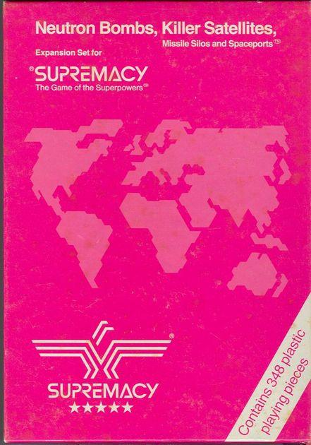 Supremacy: Neutron Bombs and Killer Satellites