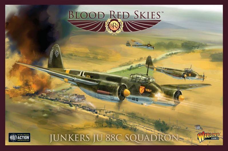 Blood Red Skies: Junkers Ju 88C Squadron