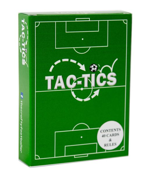 TAC-TICS: The football card game for children age 6 to 99!