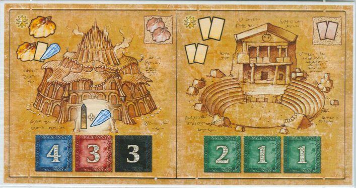 Blue Moon City: Theater & Golden Shrine Promo Tiles