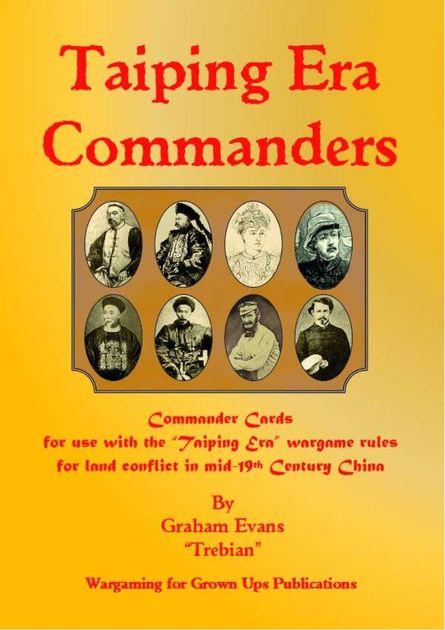 Taiping Era: Commanders