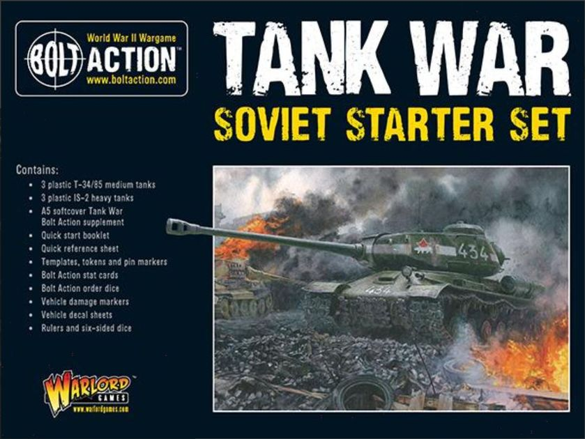 Bolt Action: Tank War – Soviet Starter Set
