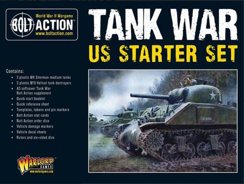 Bolt Action: Tank War – US Starter Set