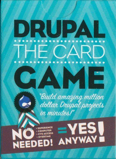 Drupal: The Card Game