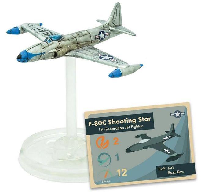 Blood Red Skies: Lockheed F-80C Shooting Star Squadron