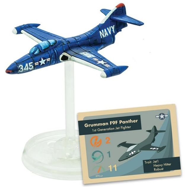 Blood Red Skies: Grumman F9F Panther Squadron