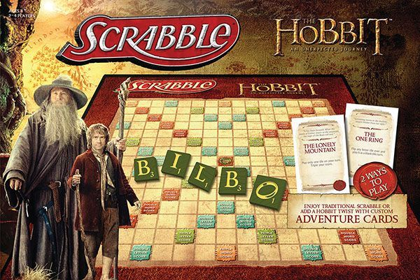 Scrabble: The Hobbit – An Unexpected Journey Edition