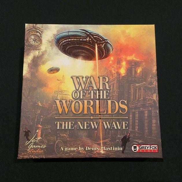 War of the Worlds: The New Wave – Kickstarter Edtion