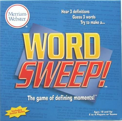 Word Sweep!