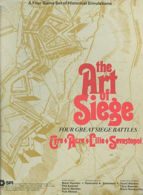 The Art of Siege