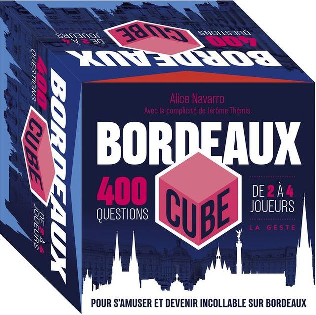 Bordeaux Cube