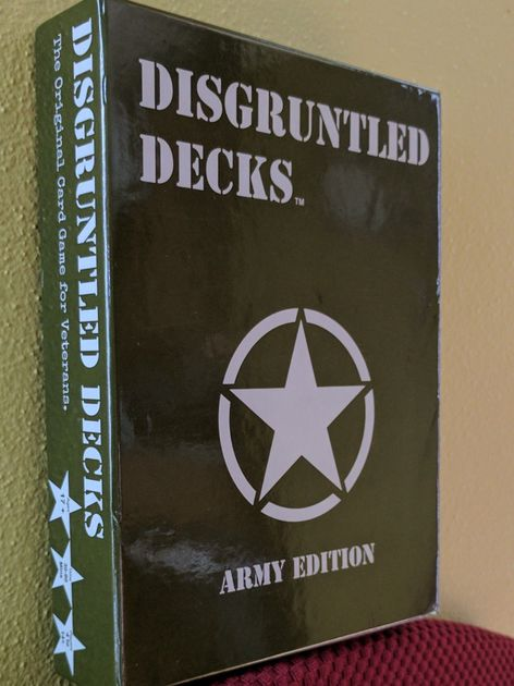 Disgruntled Decks: The Army Edition