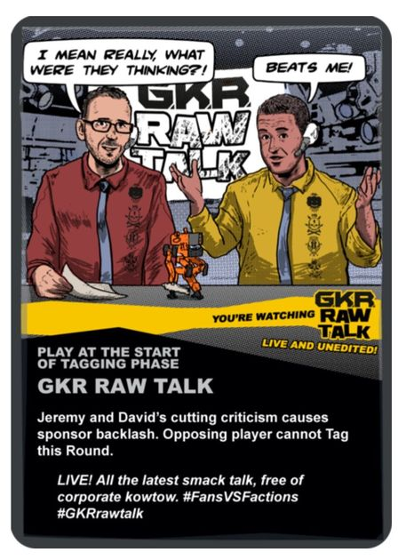 GKR: Heavy Hitters – Raw Talk