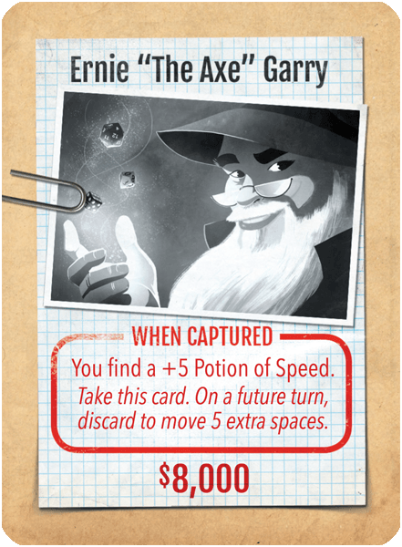 "Stop Thief!: Ernie ""The Axe"" Garry Promo Card"