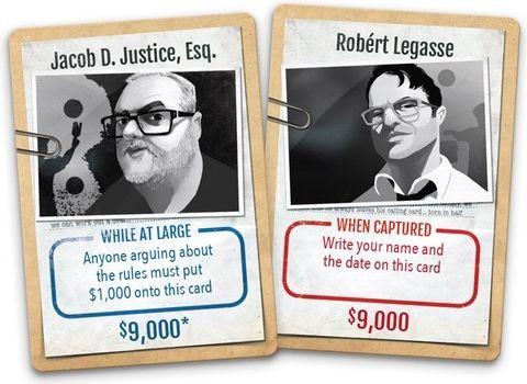 Stop Thief!: Kickstarter Promo Cards