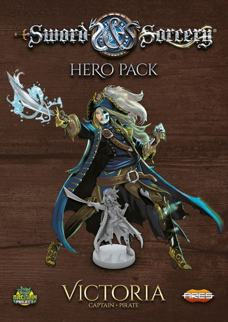 Sword & Sorcery: Hero Pack – Victoria the Captain/Pirate