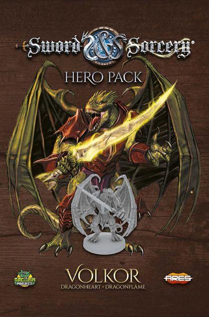 Sword & Sorcery: Hero Pack – Volkor Dragonheart/Dragonflame