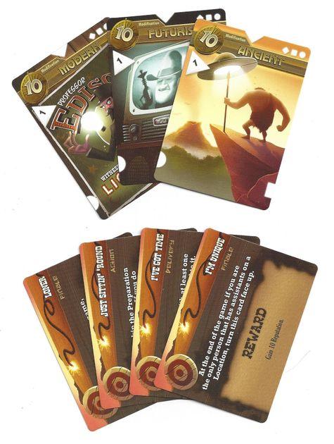Area 1851: Promo Cards