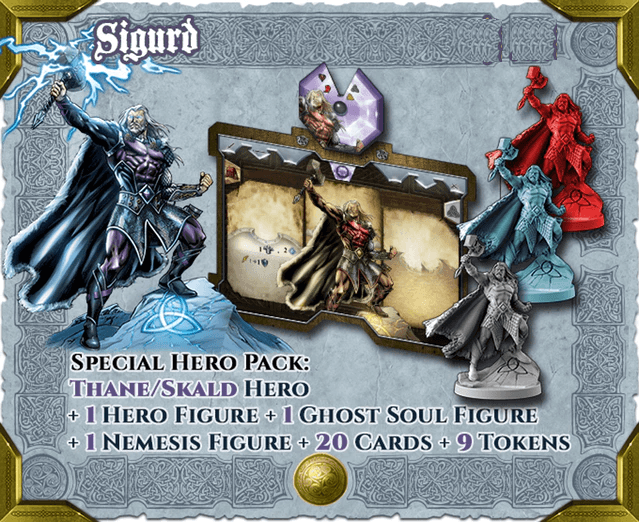 Sword & Sorcery: Hero Pack – Sigurd Thane/Skald
